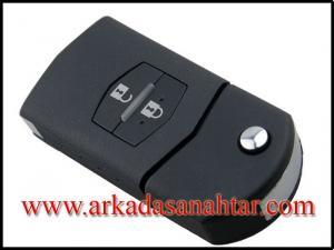 Mazda anahtarı,araba anahtarı,oto anahtarı,otomobil anahtarı,oto çilingir,oto anahtarcı,kumandalı anahtar,immobilizer anahtar,sustalı anahtar,anahtar,kumanda,key