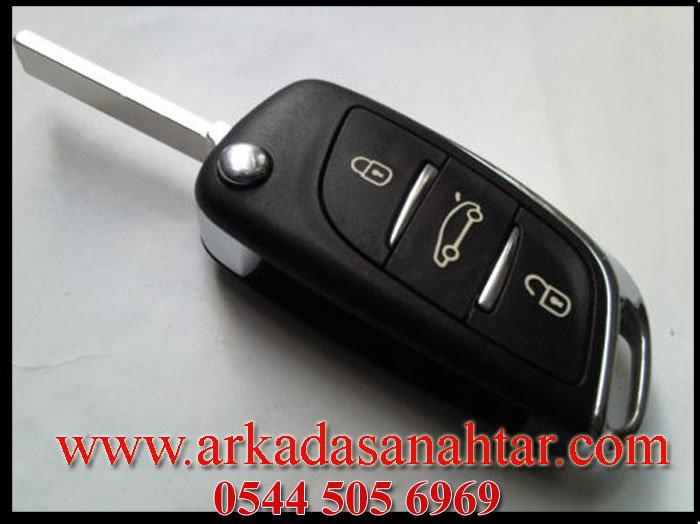 C-elysee Anahtarı,citroen anahtarı,oto anahtarı,araba anahtarı,yedek anahtar,kontak anahtarı,çilingir