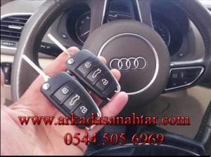 Audi Q3 Anahtar yapımı