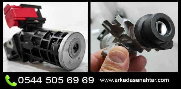 linea kontak sıkıştı anahtar dönmüyor arıza tamiri how to replace battery chande pil değişimi nasıl