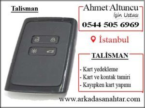 Talisman card key