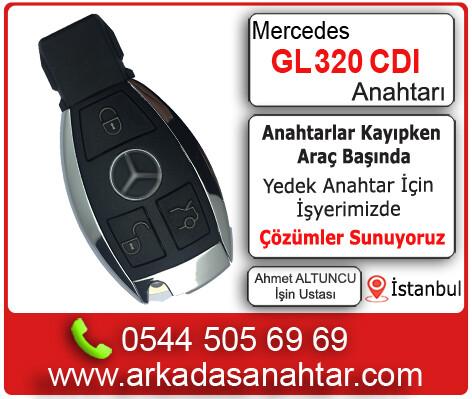 Mercedes GL 320 CDI yedek ve kayıp anahtar kodlama