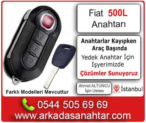 Fiat 500l yedek kayıp kontak anahtarı yaptırma kontak tamiri pil değişimi
