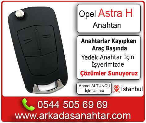 Opel Astra H yedek ve kayıp anahtar