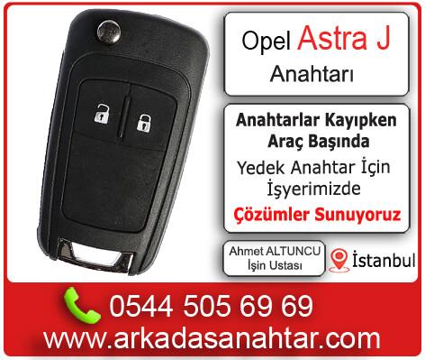 Astra J Anahtarı yedek kayıp